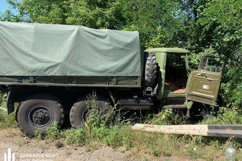 В Днепропетровской области грузовик Нацгвардии наехал на легковушку, двое погибших