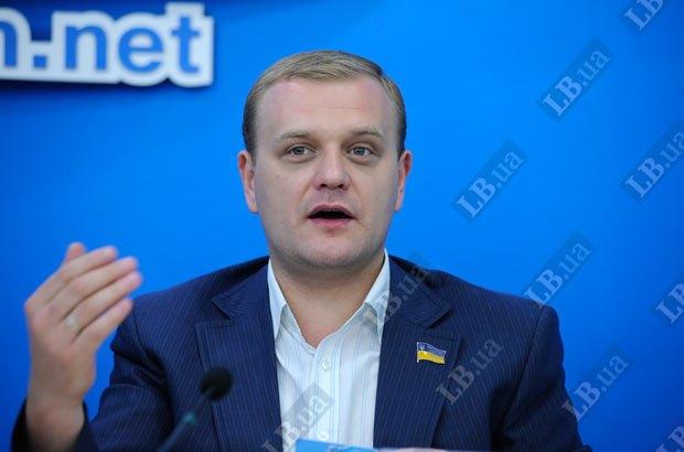 """Глава ВМО """"Молодые Регионы"""" Андрей Пинчук"""""""