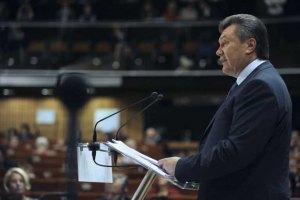 Янукович: Украина не будет участницей европейской ПРО
