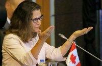 Україна наразі не подавала заявку Канаді на купівлю зброї
