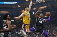 """Михайлюк обновил личный рекорд результативности в НБА за """"Лейкерс"""""""