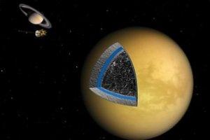 На Титане может быть подземный океан