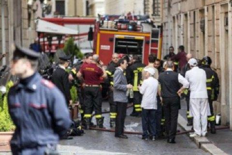 Внаслідок вибуху у кафе в центрі Риму загинула людина