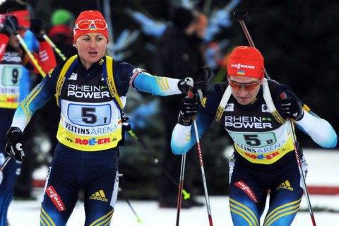 """Украинские биатлонисты в """"Рождественской гонке"""" финишировали пятыми"""