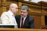 Турчинов: Порошенко мог бы стать премьером в случае перевыборов Рады