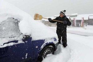 В Украину идут морозы и метели