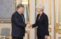 МВФ решил выделить Украине $1 млрд, - Порошенко