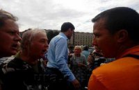 Жители Славянска прогнали Левченко из города