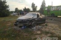 Водитель, сбивший насмерть женщину на остановке под Харьковом, арестован на два месяца