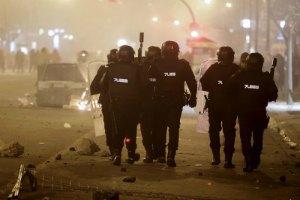 В Мадриде акция протеста обернулась беспорядками