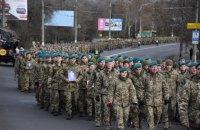 У Миколаєві зустріли бійців 36-ї ОБМП та 406-ї ОАБ, які повернулися з зони проведення ООС