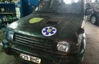 В Умані медеваку ПДМШ подарували Mitsubishi Pajero Wagon