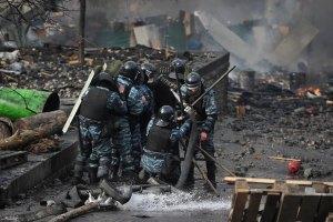 """Луцькому """"Беркуту"""" платили по 10 тис. грн, а по бійцях прицільно стріляли"""