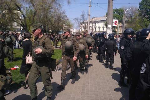 Поліція запобігла бійці за участю націоналістів біля Куликового поля