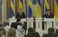 Зеленський зустрівся з прем'єр-міністром Швеції Стефаном Льовеном