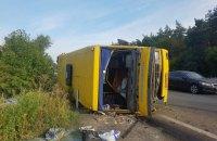 В Днепропетровской области фура врезалась в маршрутку, 13 пострадавших