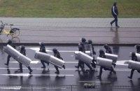 """Среди белорусских силовиков заметили бывших украинских """"беркутовцев"""""""