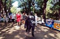 Анонимусы взломали парковку в Одессе, а Дарт Вейдер нанес удар бензопилой