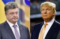 Белый дом подтвердил встречу Трампа с Порошенко