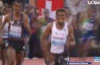 На этапе Бриллиантовой лиги легкоатлет по ошибке начал праздновать победу за круг до финиша