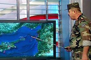 Обломки турецкого истребителя нашли в море
