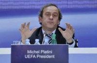 Платини: объединение Украины и России не отвечает принципам УЕФА