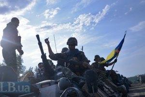 Десантники уничтожили три блокпоста боевиков, - пресс-центр АТО