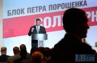 Поодинока лідерність «Блоку Петра Порошенка» на місцевих виборах