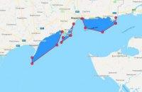 Три участка Азовского моря закрыли на все лето по заявке ВСУ