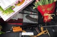 В центре Киева полиция обнаружила автомат Калашникова в багажнике автомобиля
