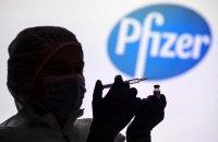 Сьогодні на Київщині розпочинається щеплення вакциною від Pfizer