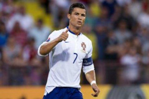 Найкращим футболістом Європи визнано Роналду