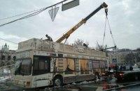 Полиция не увидела нарушений в демонтаже МАФов на Контрактовой площади в Киеве