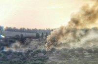 Бойовики обстріляли Новолуганське із запалювальної зброї