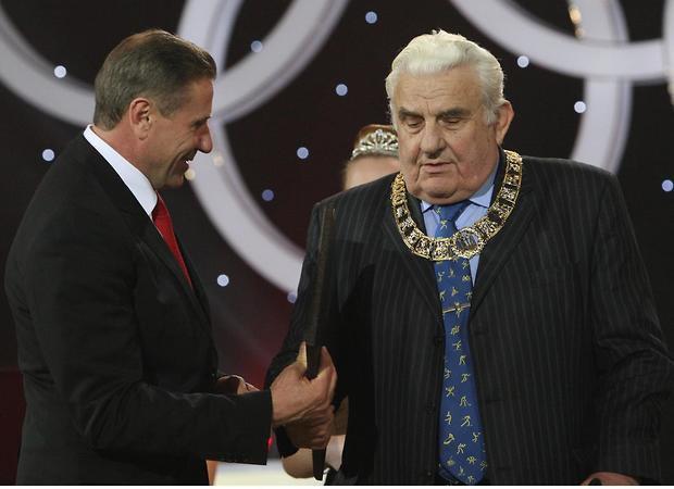 Вручення Ордену Міжнародного олімпійського комітету