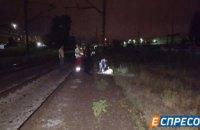 Женщина погибла под колесами электрички в Киеве