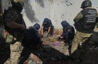 На Донеччині виявили схрон з мінами, гранатами, набоями та вибухівкою