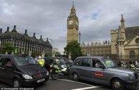 """Таксисти Лондона страйкують проти """"олімпійських"""" смуг"""