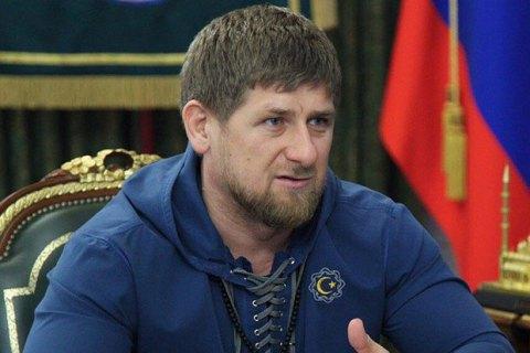 Путін залишив Кадирова на посаді голови Чечні