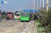 Повстанці заблокували під Алеппо автобуси з 3000 біженців