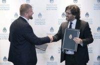 Україна й Аргентина підписали договір про екстрадицію