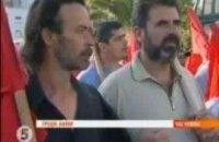 Общенациональная забастовка в Греции