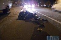 В Киеве микроавтобус сбил насмерть пожилого мужчину на пешеходном переходе