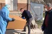 Фонд Порошенка передав обладнання районній лікарні Тернопільської області, де зафіксовано спалах коронавірусу