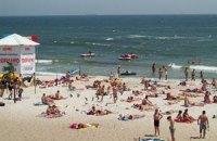 """В Одессе запретили купаться на пляже """"Чайка"""""""