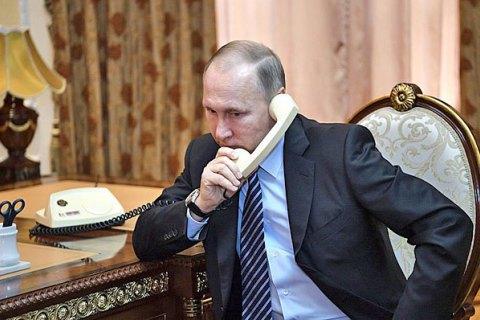 Путін і Макрон обговорили подальшу роботу врамках «нормандського формату»