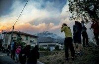 В окрестностях итальянской Пизы из-за лесного пожара эвакуированы более 500 человек