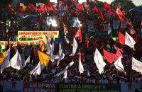 В Бразилии прошли митинги в поддержку президента Русеф