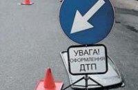 Крупное ДТП полностью парализовало движение по Новому мосту Днепропетровска