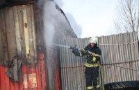 В Киеве второй раз за полгода горел склад